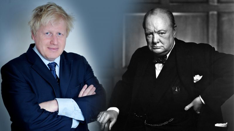 """We shall close down the beaches…"" Johnson is no Churchill"